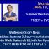 Summer Workshop Preview