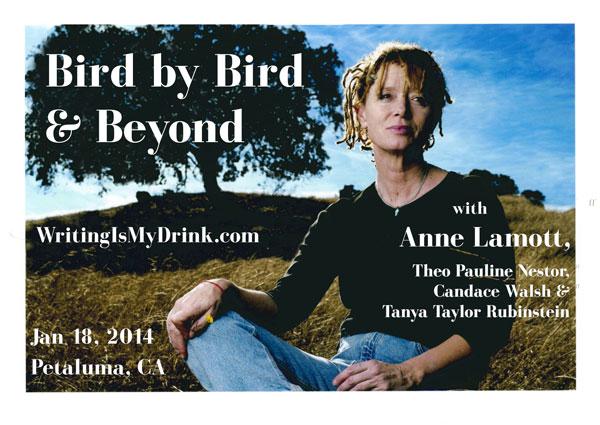 Bird by Bird & Beyond |Workshop with Anne Lamott