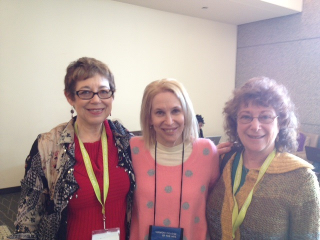 Linda Joy, Sue William Silverman and Sheila Bender