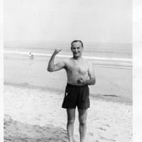 Dad beach 1953012