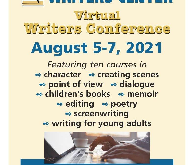 Cape Cod Writers Center Conference
