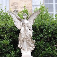 Angel in Lourmarin