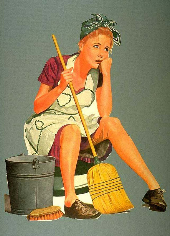 House Cleaning: Free Cartoon House Cleaning Images