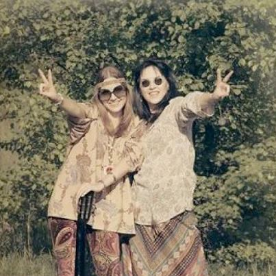 a vibrant hippie history The '60s are known as one of the most fashion conscious times in history  were found in prints and solids and in both pastel and vibrant colors  hippie fashion.