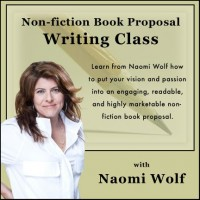 Naomi Wolf Nonfiction Book Proposal Writing Class